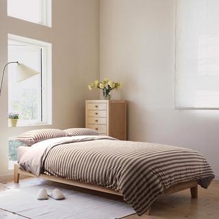 温馨暖色MUJI风格卧室