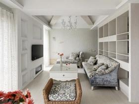 纯净现代简约风二居装修 洁白空间犹如仙境