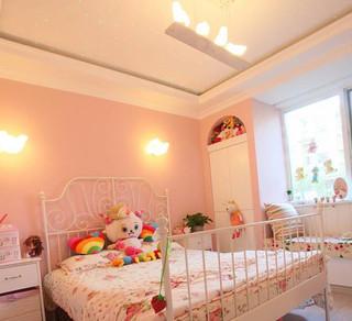清新卧室飘窗设计