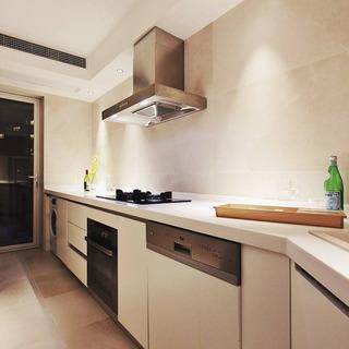 现代简约风格二居室70平米效果图