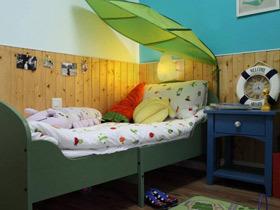 小清新复古田园公寓装修 很像梦中小花园