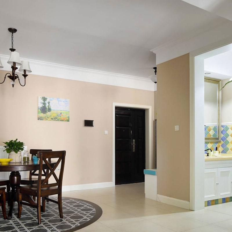 美式风格三居室90平米装修效果图