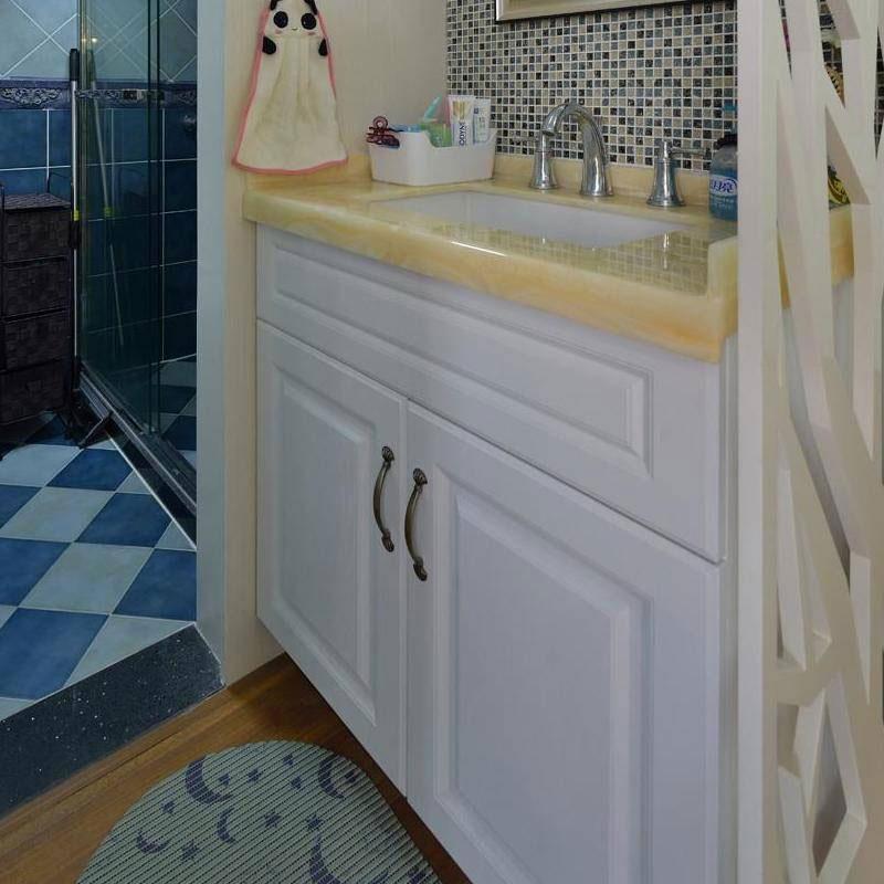 现代简约洗手台设计效果图