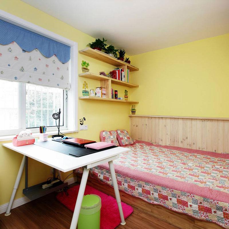 田园风格二居室60平米设计图纸