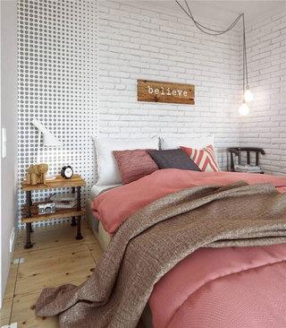 北欧风格一居室40平米装修图片