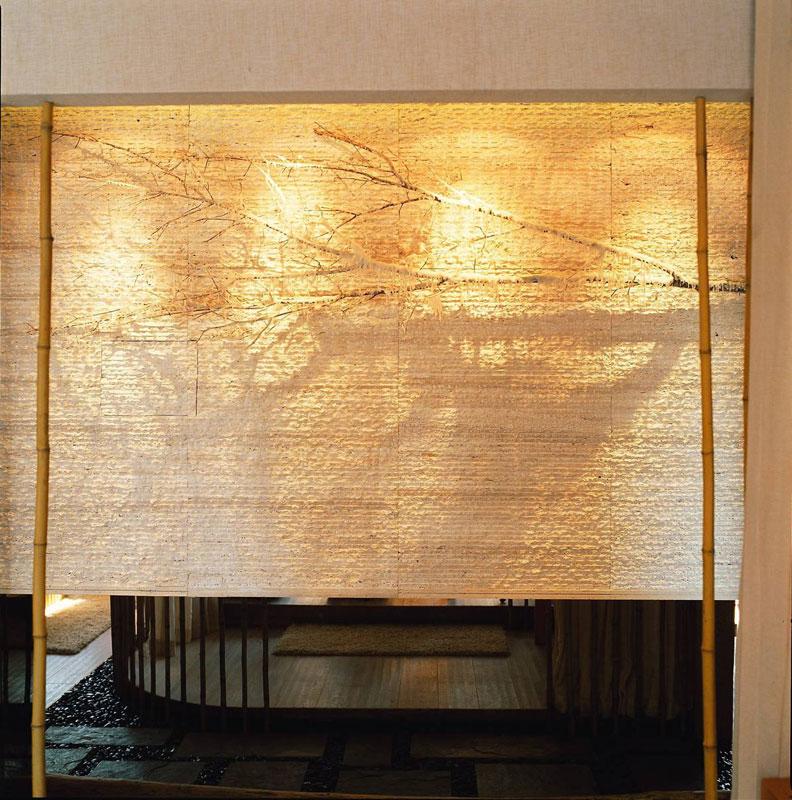 新中式风格二居室小清新70平米效果图