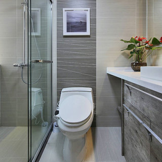 简洁卫生间设计效果图