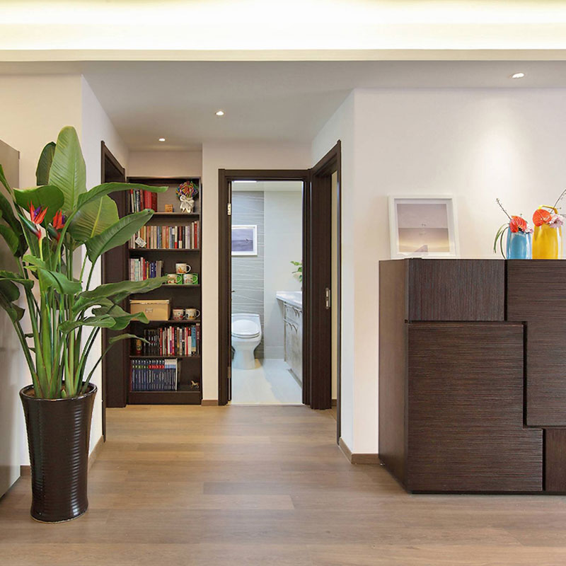 中式风格二居室100平米装修图片