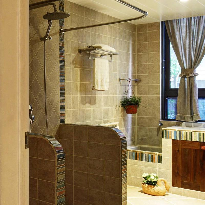混搭卫生间淋浴房设计图片