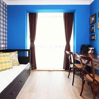 美式风格二居室简洁70平米装修图片