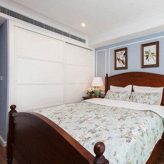 美式风格二居室70平米装修效果图