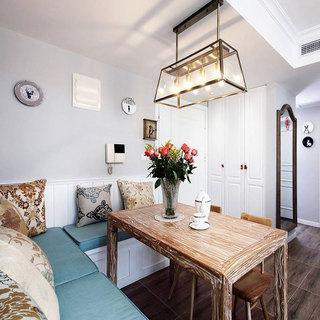 现代简约风格二居室70平米装修图片