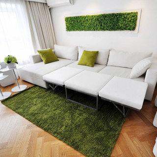 loft风格一居室60平米效果图