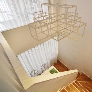 loft风格一居室60平米设计图