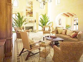 13图美式客厅 在家体验经典美式