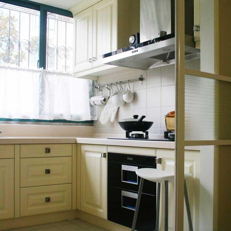 新中式厨房设计效果图