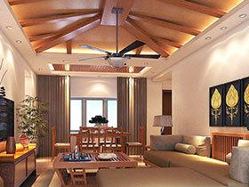 寻觅自然风情 15个东南亚风格客厅