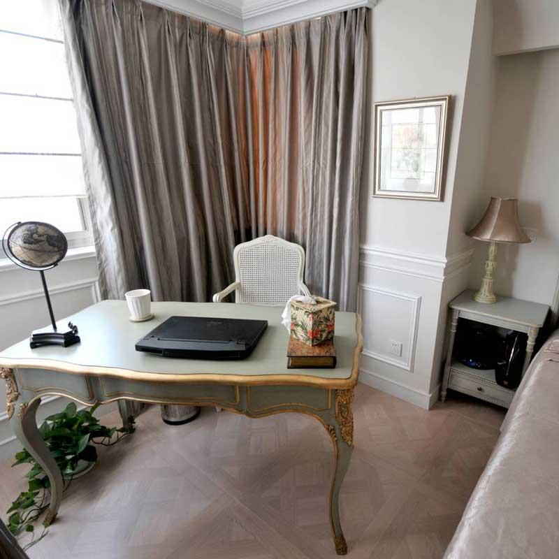 混搭风格三居室140平米以上效果图