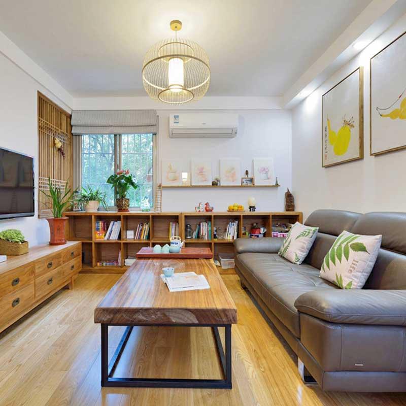 日式简洁客厅设计效果图