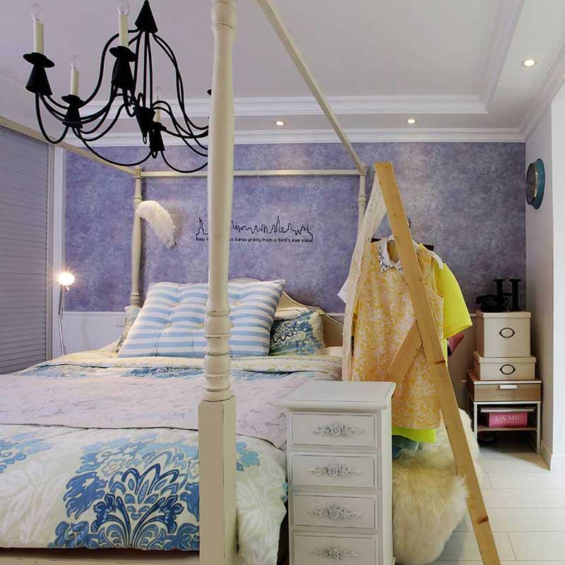 一居室小清新50平米婚房家装图片