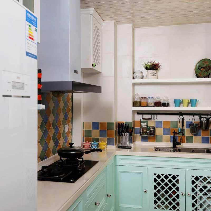 美式清新厨房设计效果图