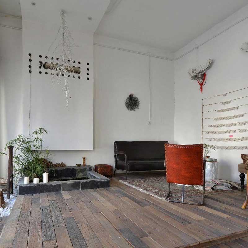 北欧风格一居室60平米设计图纸