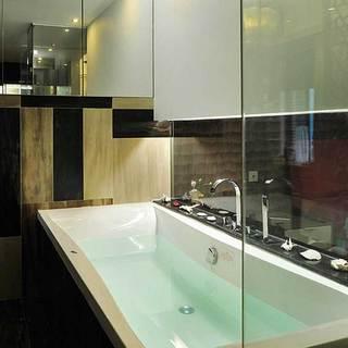 简约简洁浴缸设计图片