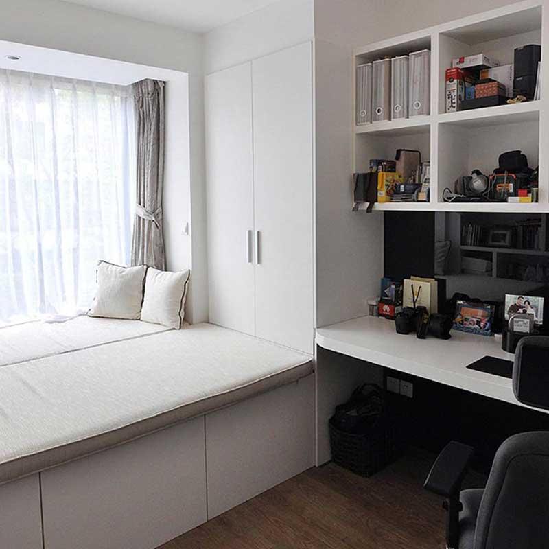 简约风格二居室60平米设计图纸