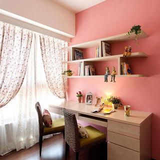 混搭风格二居室50平米设计图