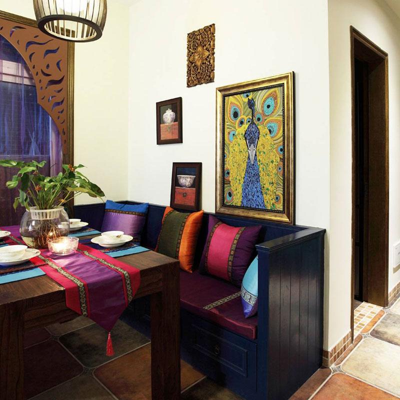 东南亚客厅沙发设计图片