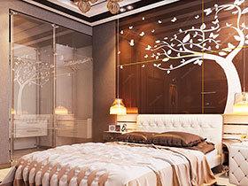 11款床头背景墙 造个性卧室空间