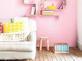可爱粉嫩空间 13图粉色家居布置
