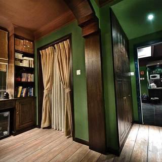 美式风格三居室50平米设计图纸