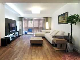 温馨现代宜家风 两室两厅大气宽敞
