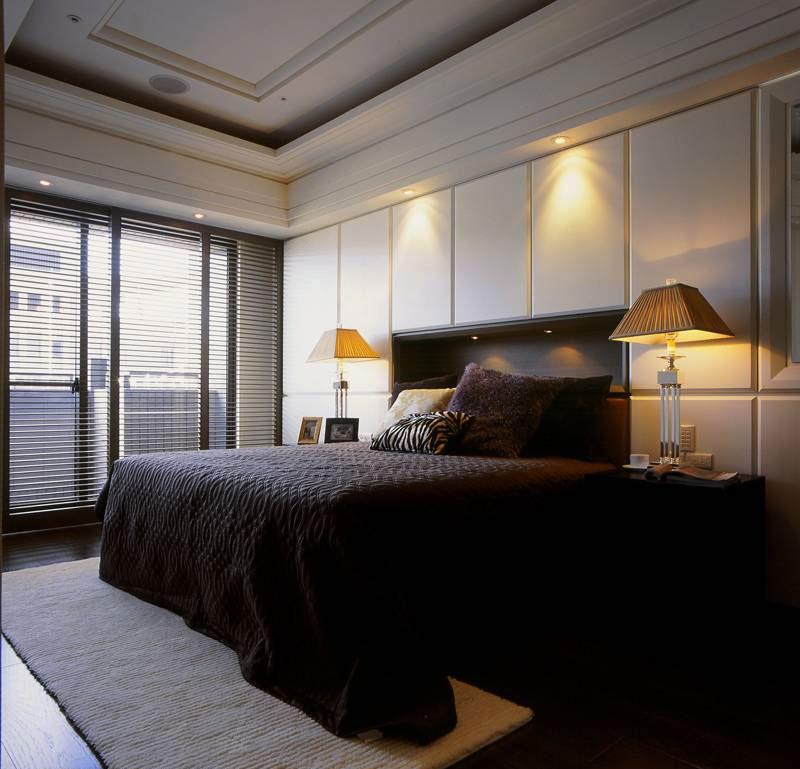 现代简约卧室设计效果图