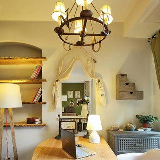 地中海风格三居室110平米装修图片
