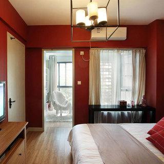 混搭风格三居室120平米设计图纸