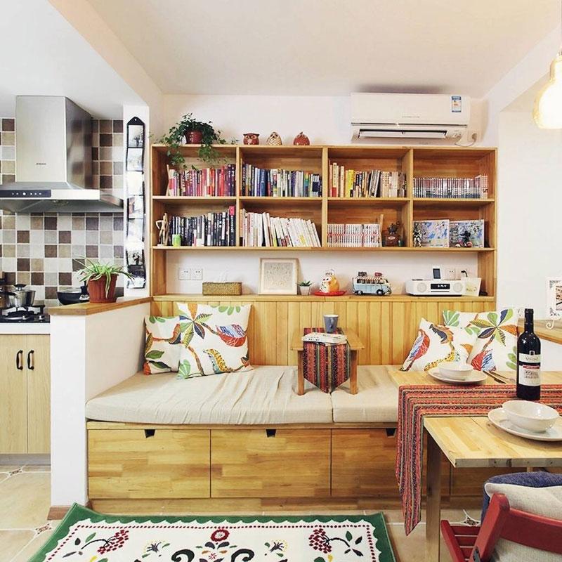 混搭温馨客厅设计效果图