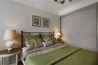 美式卧室设计效果图