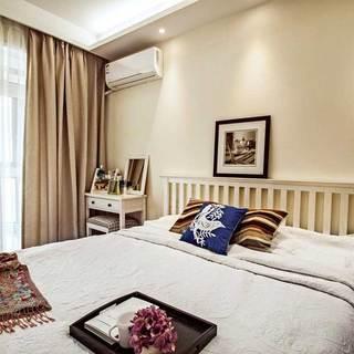 北欧清新卧室设计效果图