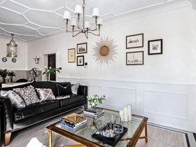 黑白配艺术北欧风公寓 白色调的家十分靓丽
