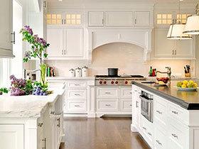 厨房恋上小清新 12个清新厨房设计方案