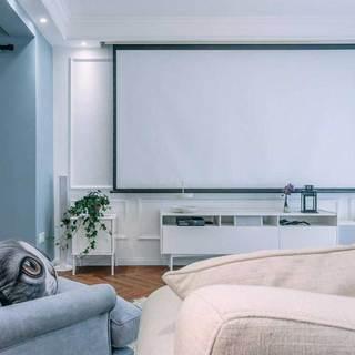 北欧风格二居室80平米效果图