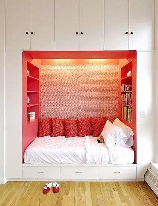 创意壁橱改造小卧室