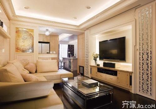 70平两居室小户型装修案例    小户型也可以有大空间