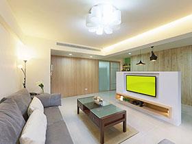 隔断电视墙装修效果图大全 隔出客厅通透感