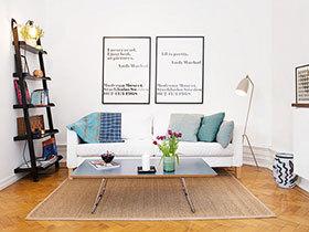 踏遍北欧风情 14个北欧风格客厅地毯