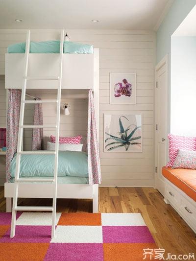 空间二合一 创意十足高低床设计来了