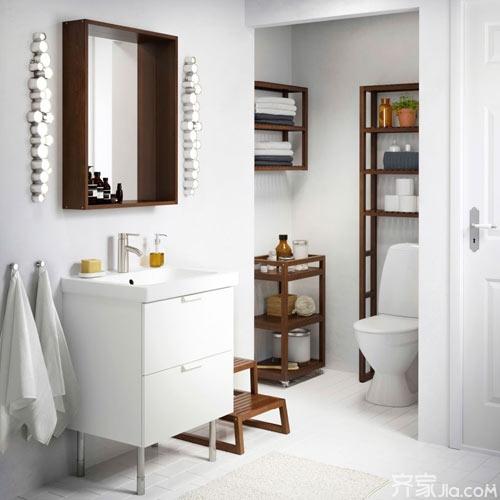 7款清新浴室柜设计 谁不爱呢