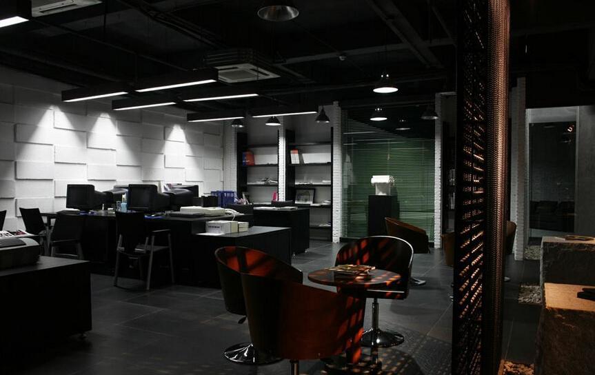 现代简约办公室装修